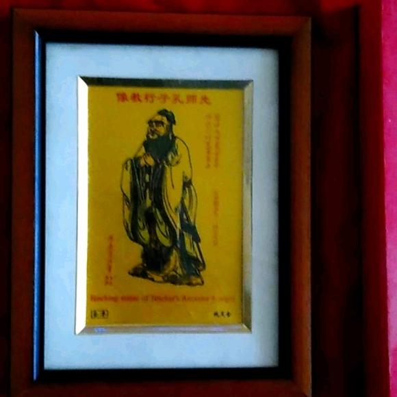 Chinese Buddhist Framed